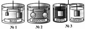 Тест по физике Действие жидкости и газа на погруженное в них тело 8 задание