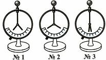 Тест по физике Электрические заряды и электрический ток 1 вариант 4 задание