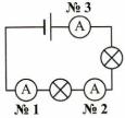 Тест по физике Измерение силы тока 3 задание