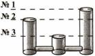 Тест по физике Сообщающиеся сосуды 4 задание