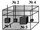 Итоговый тест по темам Атмосферное давление, Архимедова сила, Плавание тел 7 класс 1 вариант 11 задание