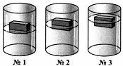 Тест по физике Плавание тел 9 задание