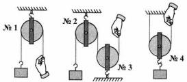 Тест по физике Блоки 5 задание