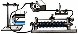 Тест по физике Электромагнитные явления 3 вариант 13 задание