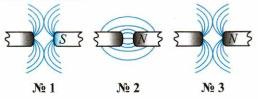 Тест по физике Постоянные магниты и их магнитное поле 11 задание