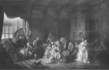 Репродукция с картины художника С. Хлебовского