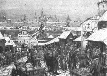 Репродукция с картины художника А.М. Васнецова