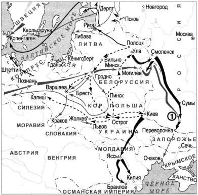 Контрольная работа северная война 8701
