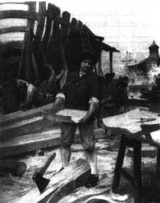 Репродукция картины неизвестного художника